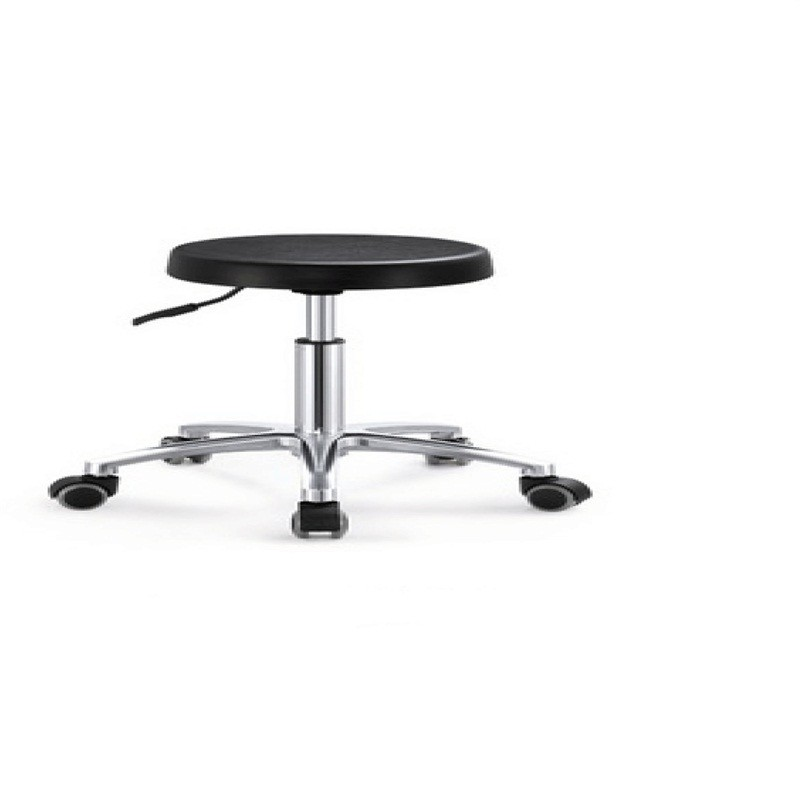 Black PU Plastic Circle Bar Chair OH8004