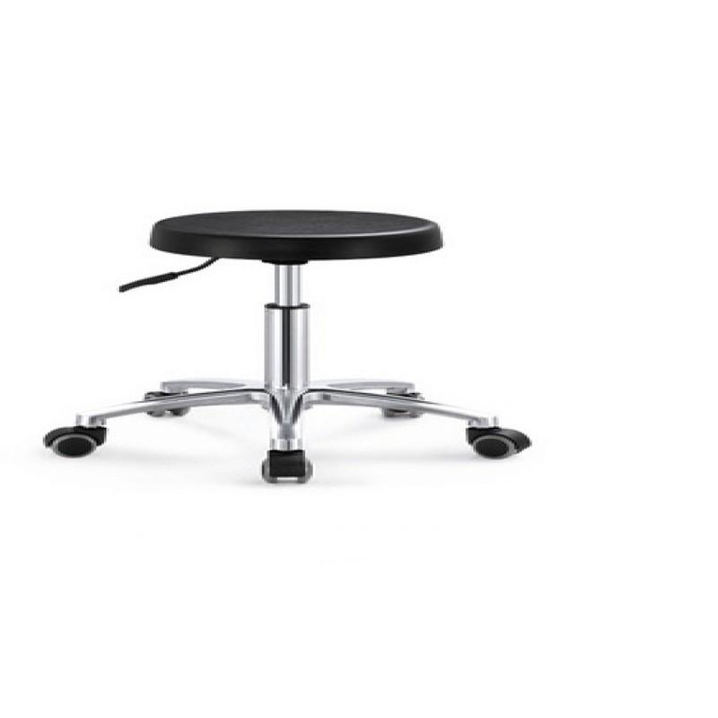 Black PU Plastic Circle Bar Chair OH8004