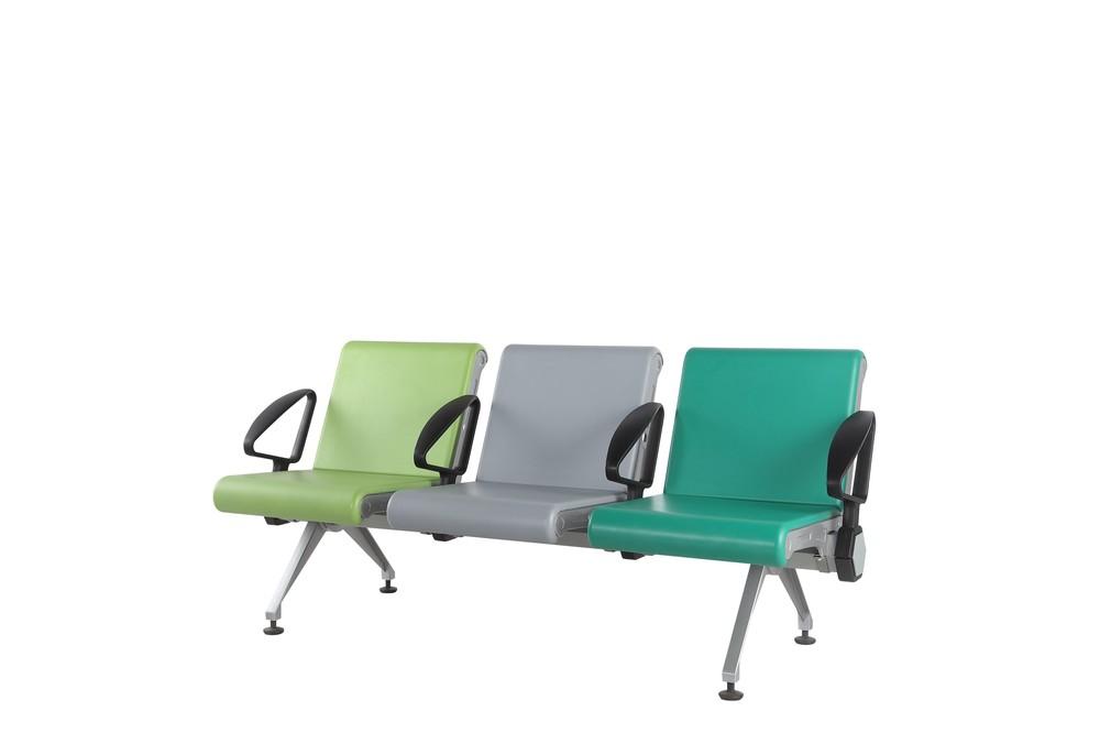 PU arm waiting room airport chair P2009