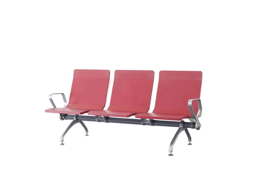 PU Plastic high back public waiting room chair P1803