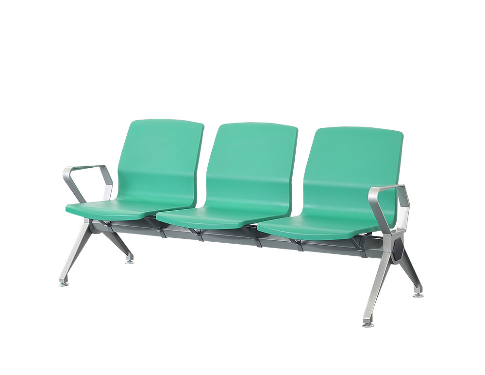 PU plastic airport public hospital waiting chair P1816