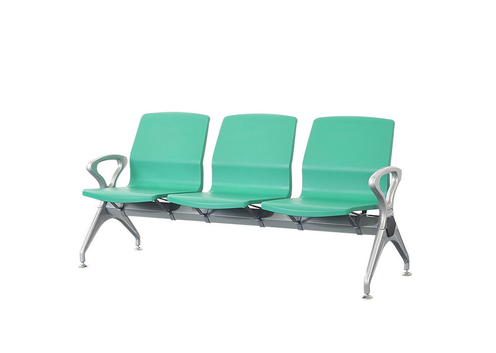 PU plastic public airport waiting sofa waiting chair P1815