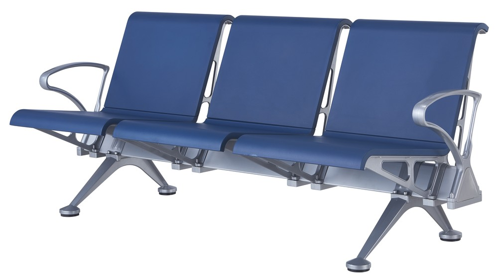 PU plastic public airport waiting chair P1717