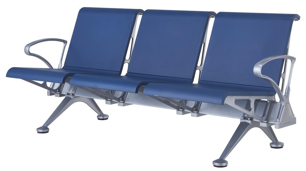 PU plastic public airport waiting chair P1717