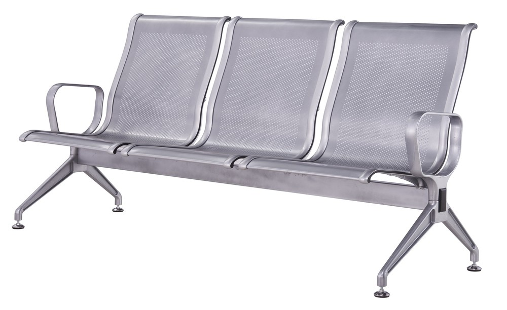 aluminium public airport waiting bench waiting chair P1703