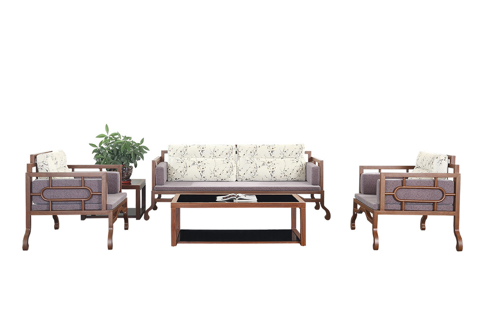 home furniture living room metal Chinese style sofa OH1804