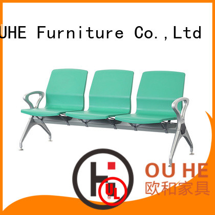 OUHE 3 seater airport chair wholesale for hospital