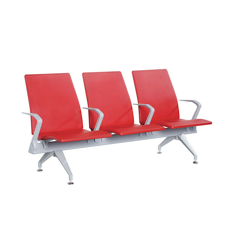 Factory Price Cheap PU Public Waiting Bench Chair PUA03