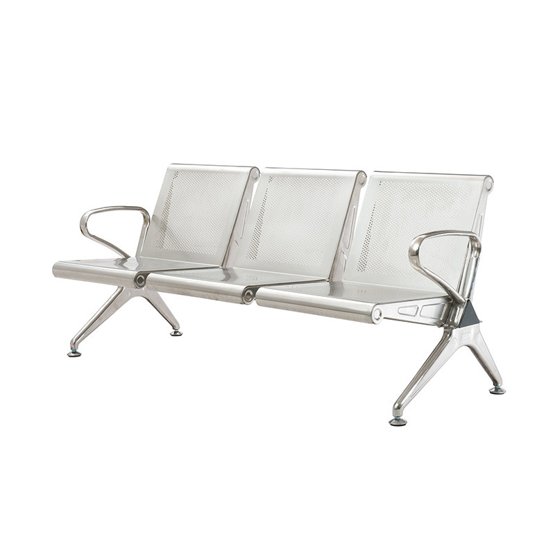 Triangle 3seater Stainless Steel Airport Waiting Chair SS203
