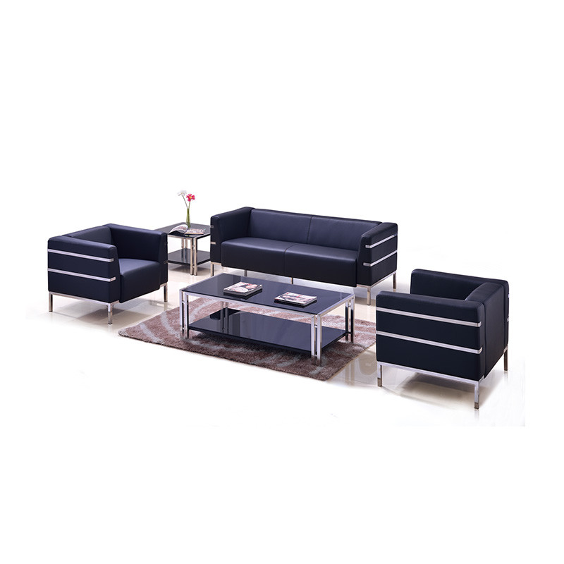 Modern Simple Design PU Leather Office Sofa OH806