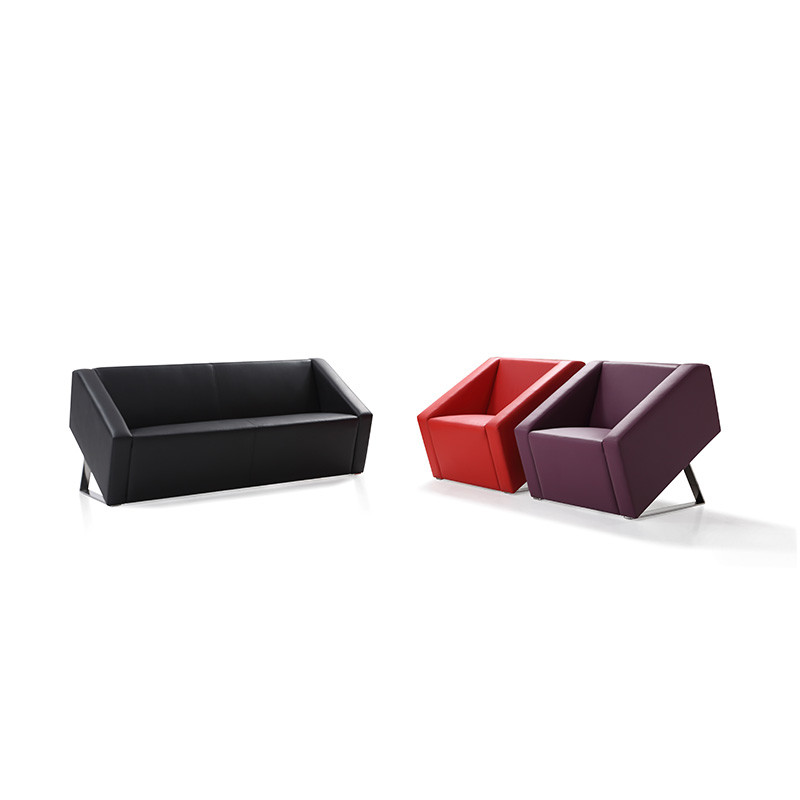 Factory Price PU New Design Office Room Sofa OH841