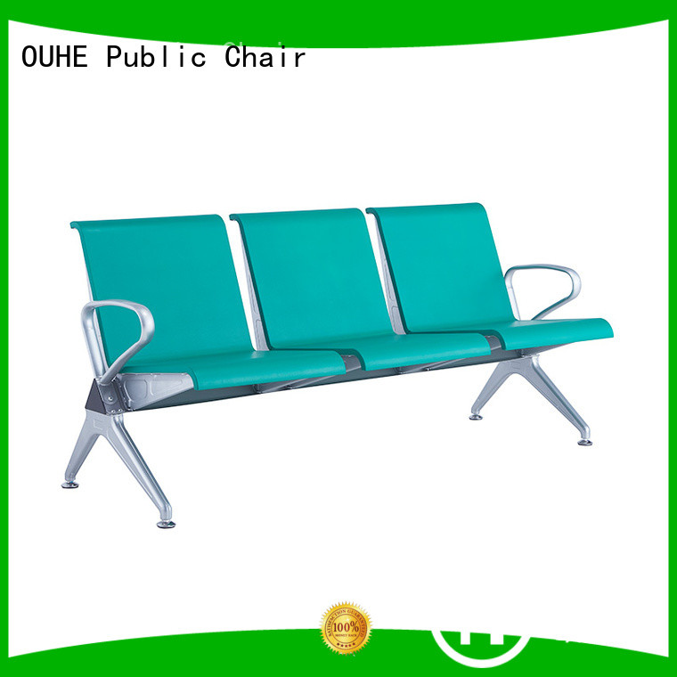 OUHE customized waiting area chairs with different color for airport