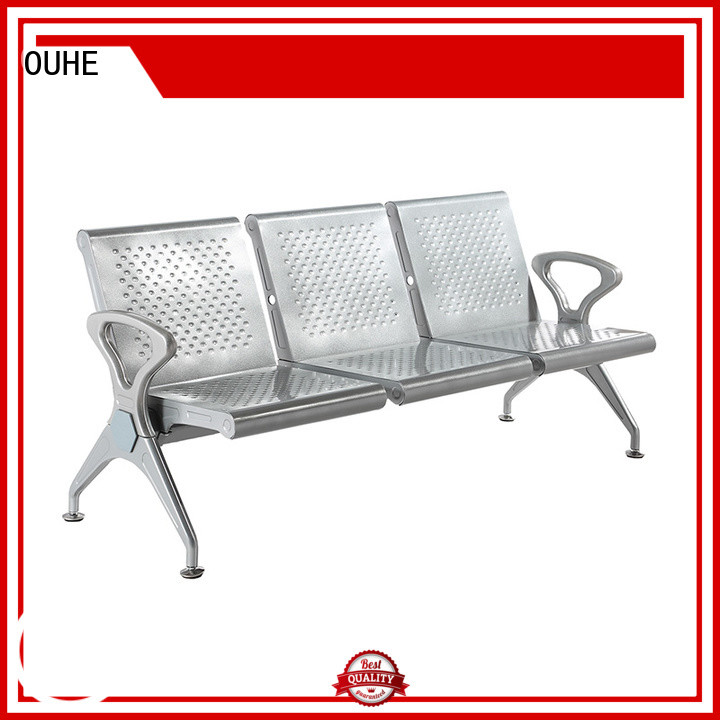 suitable airport bench seating with different color for bus station