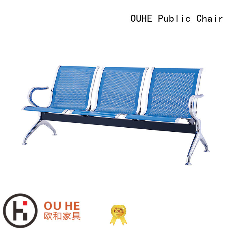 OUHE move easily 3 seater airport chair owner for airport