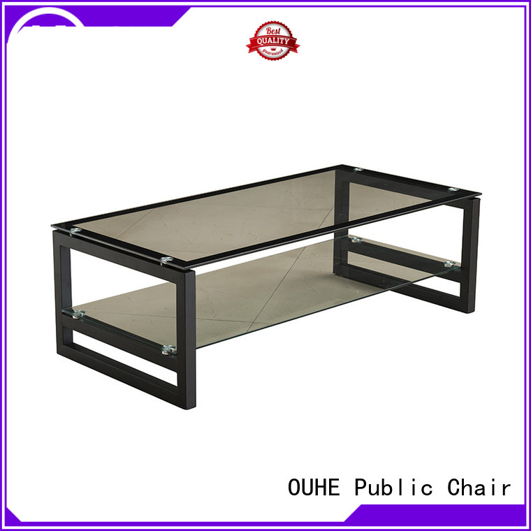OUHE modern square tea table marketing for office room