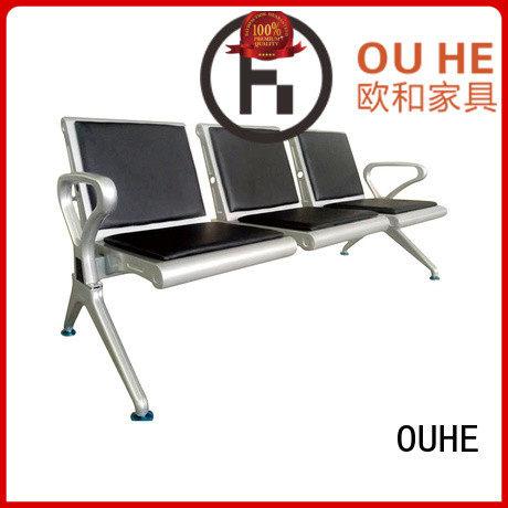 OUHE airport lounge seating factory price for hospital