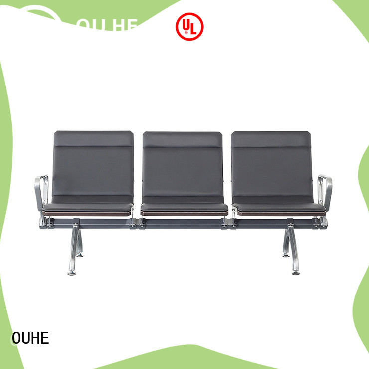 OUHE airport seating chairs factory price for hospital
