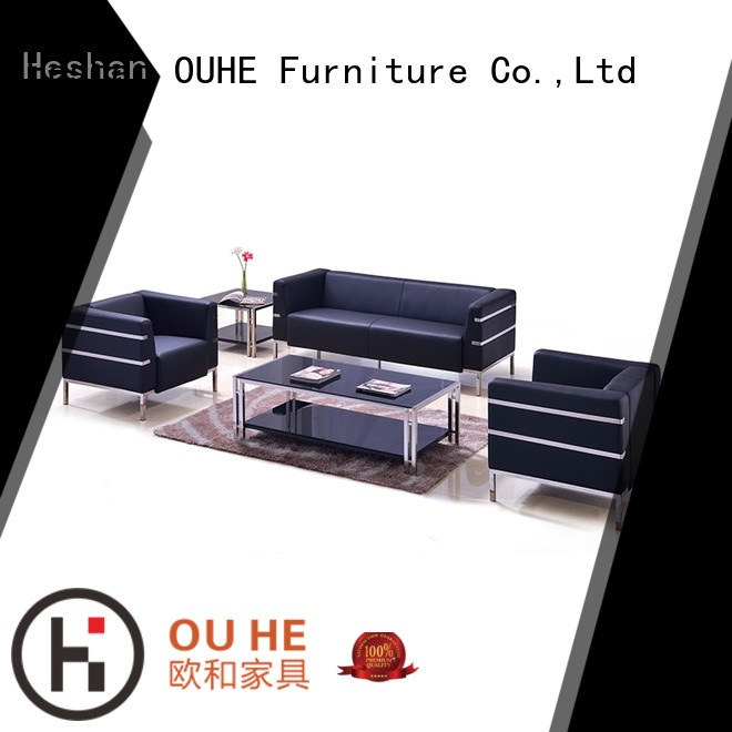 OUHE cost-effective leather leisure sofa overseas market for home