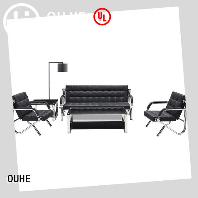 OUHE high quality office sofa wholesale for reception room