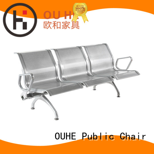 OUHE customized 3 seater airport chair marketing for hospital