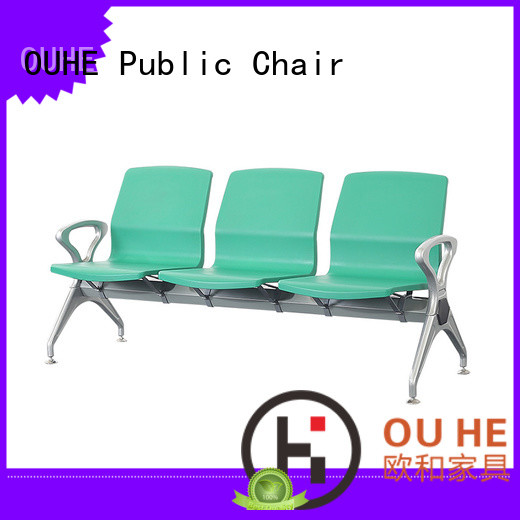 comfortable airport bench seating supplier for hospital