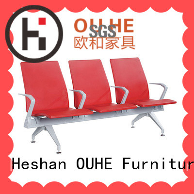 OUHE comfortable airport terminal seating wholesale for bus station