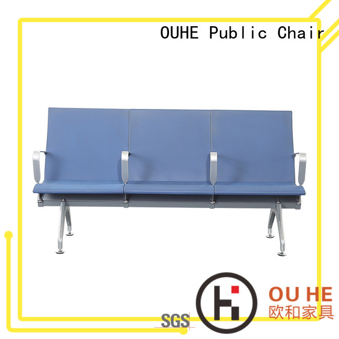 OUHE airport bench with different color for bus station