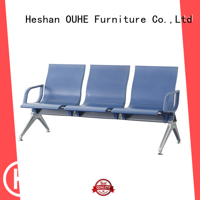 OUHE move easily airport bench factory price for bus station